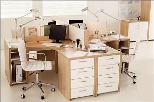 moveis para escritorio lampada