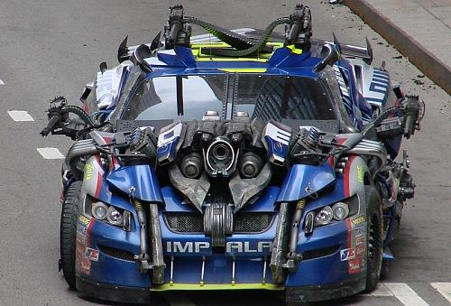 Carros Da Nascar Est 227 O No Elenco De Transformers 3