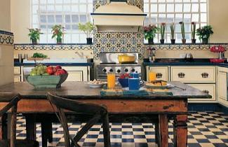 Cozinhas ganham toque original com ladrilhos hidráulicos - Casa e
