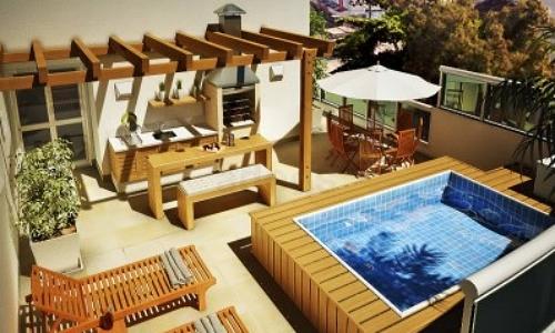 Veja quando poss vel instalar uma piscina na cobertura for Piscinas pequenas para terrazas
