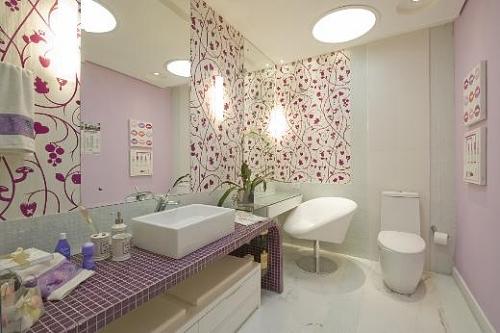 decoracao de banheiro retangular pequeno : decoracao de banheiro retangular pequeno:Escolha o espelho perfeito para o seu banheiro – Espelho – Casa e