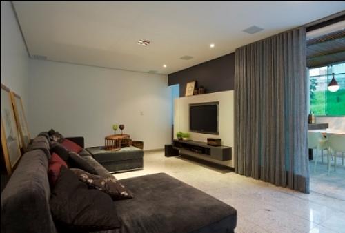 Tamanho Ideal De Sala De Tv ~ para que o aparelho de tv crie o efeito esperado a decoração do