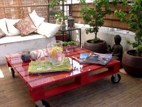 ideias jardim reciclado : ideias jardim reciclado:Ideias criativas para decorar sua casa usando paletes – Paletes – Casa