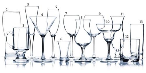para cada bebida um tipo de copo ou ta a saiba como servir tipos de ta as cursos e eventos. Black Bedroom Furniture Sets. Home Design Ideas