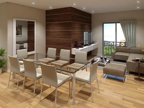 Decoracao De Sala Em L ~ Para cada formato de sala um tipo de decoração; veja dicas para não