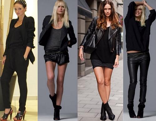 61eb9fbe5 Veja dicas para usar um look todo preto sem errar - Moda