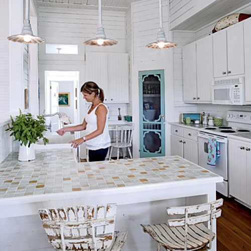 Beach Kitchen Decor Corner Kitchen Decorating Ideas: Aposte Nas Luminárias Para Deixar Sua Cozinha Mais Bonita