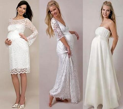 Como Deve Ser O Vestido Para Uma Noiva Grávida Moda