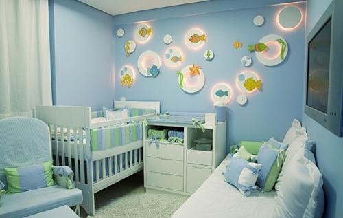 Soluc?es Para Quarto De Bebe Pequeno ~ Veja como decorar quando o quarto do beb? ? pequeno  Casa e