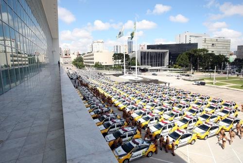 Divulgação/AEN - As novas viaturas serão entregues a 19 cidades