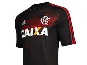 2f02f257aa Fla atropela Adidas e comete gafes em lançamento de camisa - Terceira Camisa  Flamengo - Últimas notícias de Futebol | Bonde. O seu portal