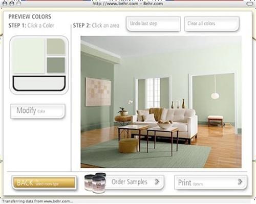 Simuladores on line facilitam na hora de escolher a cor de - Simulador de casas ...
