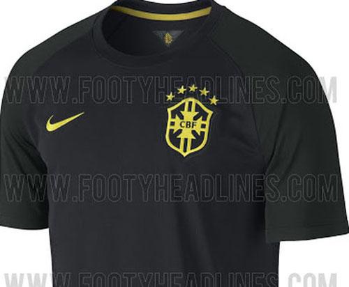 1482bb7872 Conheça a terceira camisa da Seleção Brasileira - Brasil - Últimas ...