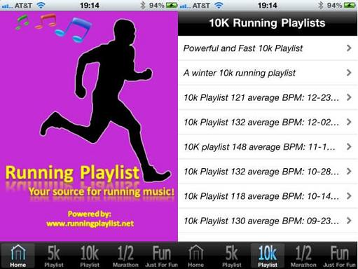 Runner playlist