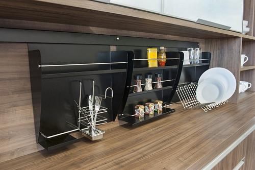 decoracao cozinha nichos : decoracao cozinha nichos:Nichos para cozinha acomodam diversos utensílios de forma compacta