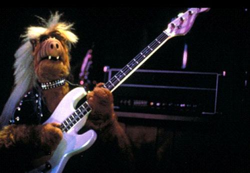 <i>Alf, o Eteimoso, em sua fase headbanger </i>