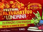 Sorteio de ingressos para o Festival Alternativo de Londrina