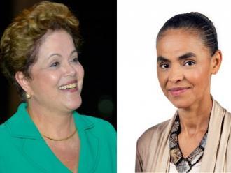 Datafolha: Dilma e Marina est�o empatadas com 34%; A�cio tem 15%