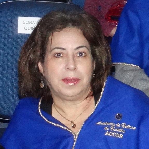 Arriete Rangel de Abreu � membro da ACCUR.