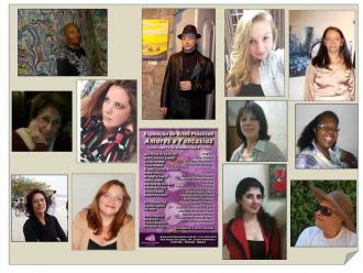 Artistas que participam da exposi��o