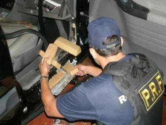 Regi�o de Foz do Igua�u responde por 20% das drogas apreendidas pela Pol�cia Rodovi�ria Federal