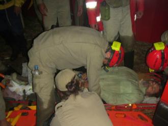 Homem � resgatado em parque do Paran� ap�s 26 dias desaparecido