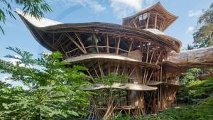 Mans�o de 750 metros usa bambu como mat�ria para estrutura e m�veis; conhe�a