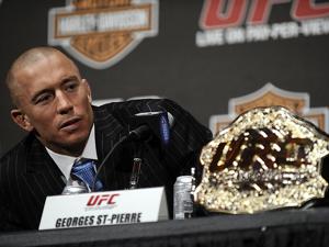 St-Pierre retorna aos treinos mas n�o dever� voltar ao UFC