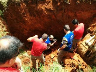 Paran�: oper�rio morre soterrado em obras na BR-376