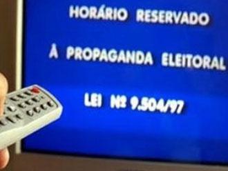 Termina hoje propaganda eleitoral no r�dio e na televis�o