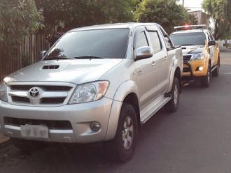 Hilux � localizada em Ibipor� minutos ap�s ser roubada em Londrina