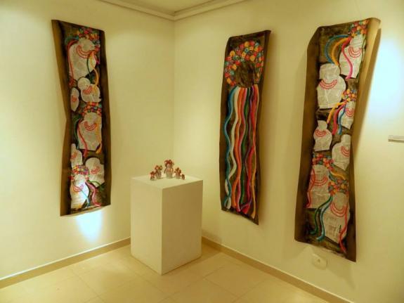 Obras que fazem parte da mostra