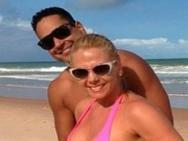 Carla Perez diz que marido aprovou novos seios: 'Brinca o tempo inteiro'