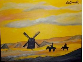 Quadro do artista pl�stico Carlos Zemek.