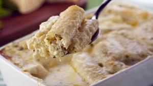 Rigatoni aos quatro queijos � op��o f�cil e deliciosa para o almo�o!