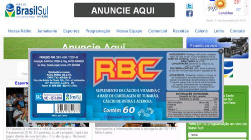 Rádio é autuada por vender produtos terapêuticos em Londrina