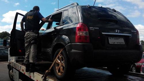 Recuperado veículo do deputado Enio Verri a caminho do Paraguai
