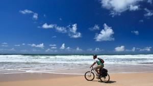 Litoral ter� rotas de cicloturismo durante a temporada de ver�o