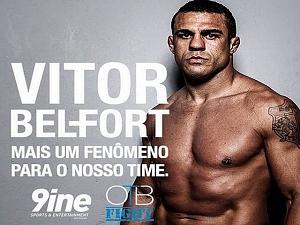 Ap�s sa�da de Anderson Silva, Belfort acerta com ag�ncia de Ronaldo