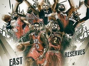 NBA anuncia reservas que estar�o das equipes do All-Star Game 2015