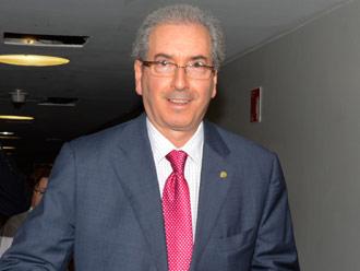 Eduardo Cunha acredita em vit�ria em primeiro turno