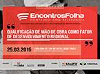 Encontros Folha, Conte�do com Relev�ncia
