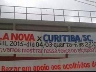 Coritiba � chamado de 'Curitiba (SC)' por advers�rio da Copa do Brasil