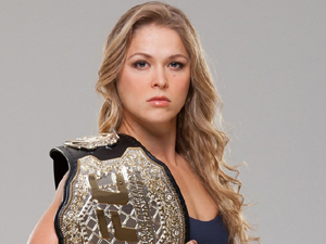 Ronda Rousey quer luta de t�tulo com Bethe Correia no Brasil