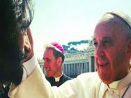 Rodrigo Santoro recebe ben��o do Papa para viver Jesus Cristo no cinema