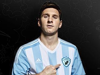 Dia da Mentira: Messi faz campanha para que Adidas patrocine o Londrina