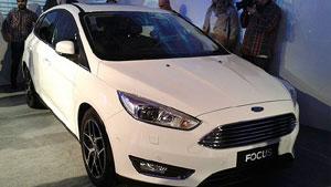 � primeira apari��o oficial do Ford Focus reestilizado no Brasil. Carro ter� a mesma dianteira do modelo europeu