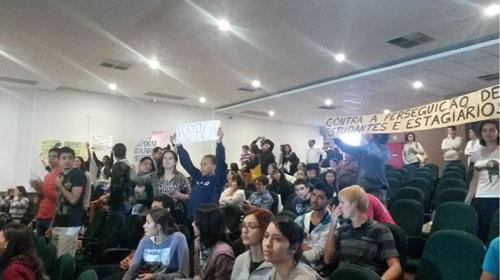 Divulgação/Facebook/Greve Estudantil UEL