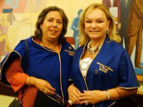 Arriete Rangel de Abreu e Maria In�s Pierin Borges da Silveira.