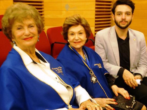 Isabel S. Ribas, Chloris Casagrande Justen e o talentoso Josh Berveglieri.